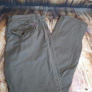 Tommy Hilfiger khaki pants 34x32 casual dress